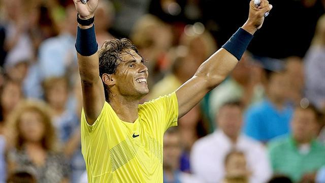 ATP Cincinnati - Nadal to meet Isner in Cincinnati final