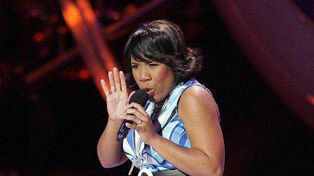 Melinda Doolittle performs as one of the top 10 contestants on the 6th season of American Idol.