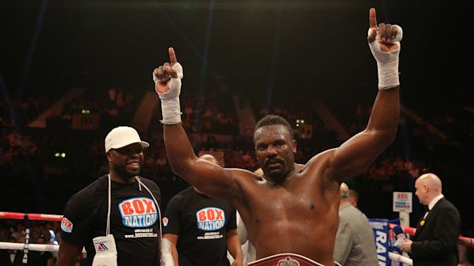 Boxing - Vacant WBO International Heavyweight Title - Dereck Chisora v Malik Scott - Wembley Arena