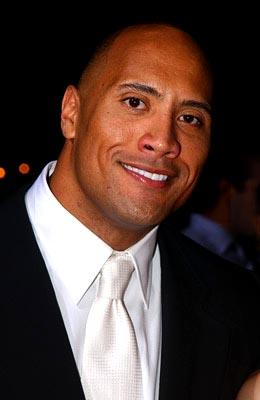 The Rock at the LA premiere of Universal's The Rundown