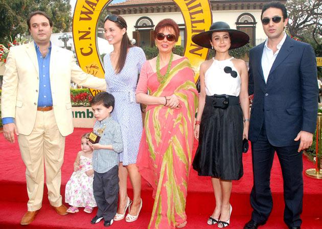 Preity turns a year older
