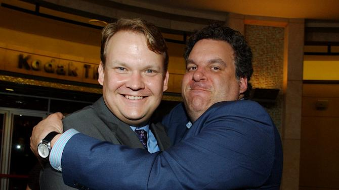 Andy Richter and Jeff Garlin at The Hollywood Reporter's 35th Annual Key Art Awards. June 16, 2006