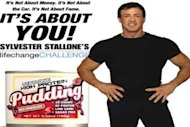 Sylvester Stallone's lawsuit pudding
