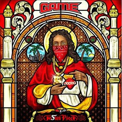 2. Game, Jesus Piece (Deluxe Edition) - Combine Christ with cannabis and gang symbols, and what could possibly go wrong? Predictably, Fox News and other conservative outlets took the bait, but Game pa