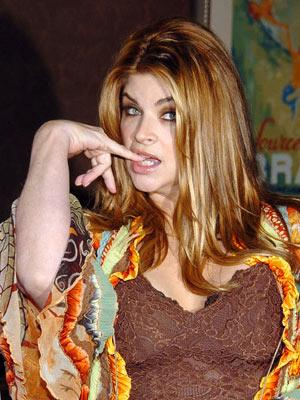 Kirstie Alley at the New York premiere of Showtime's Fat Actress - 3/2/2005
