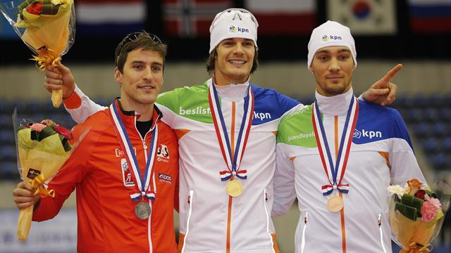 Speed Skating - Maiden World Cup win for Dutchman Otterspeer