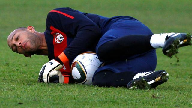 World Cup - Keeper Howard set to miss US qualifiers