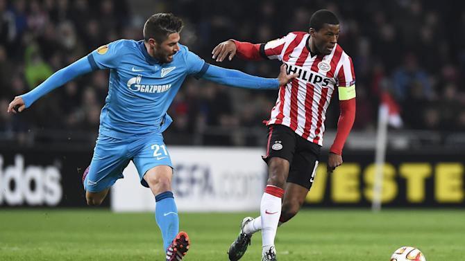 Premier League - PSV agree to sell Wijnaldum to Newcastle