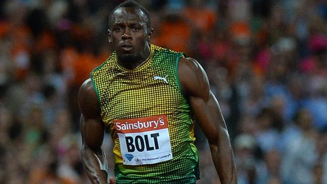 Athletics - Slow-starting Bolt blasts to victory in London