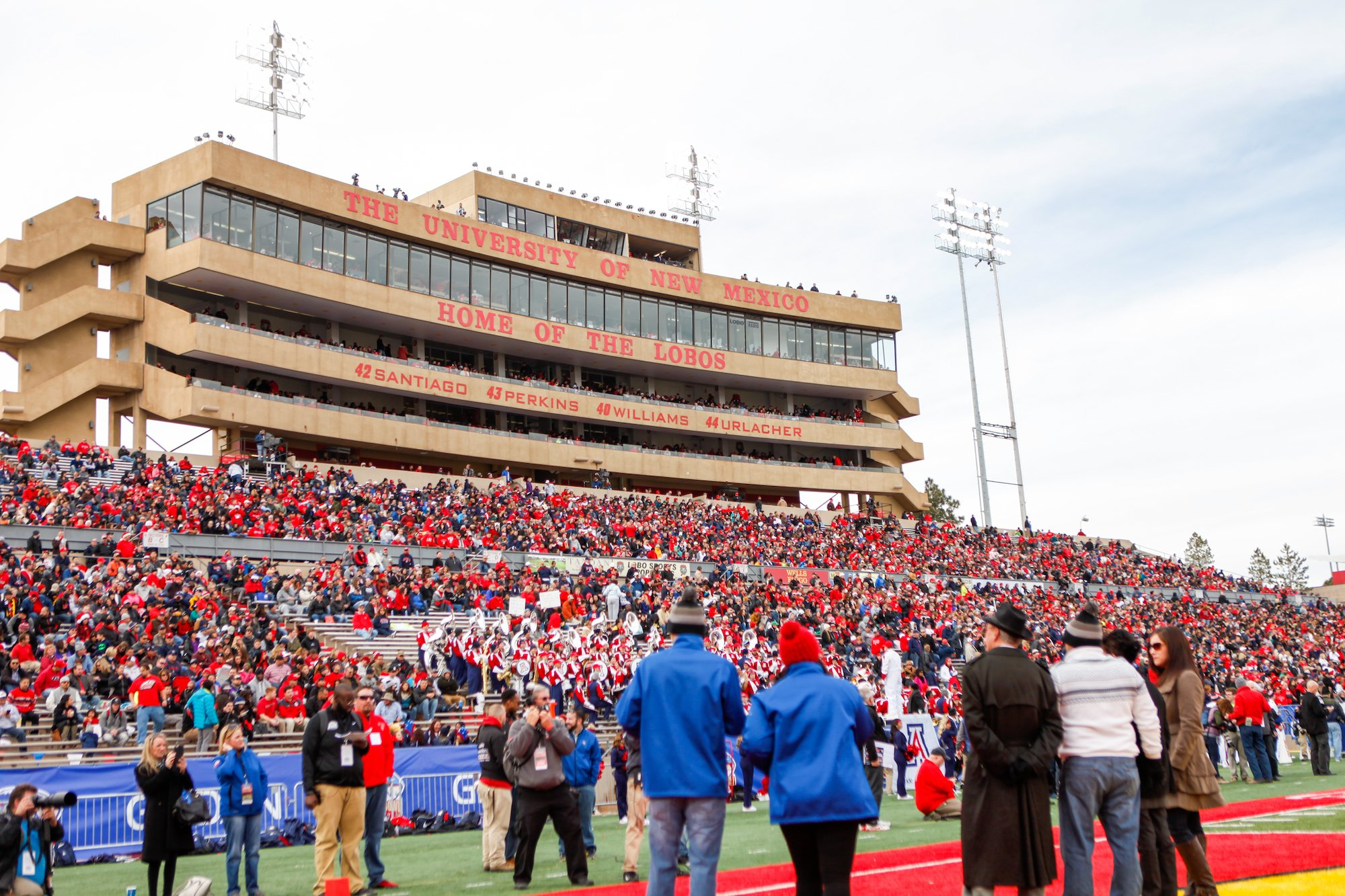 Hey, it's worth a shot: New Mexico pitches Big 12 for ...