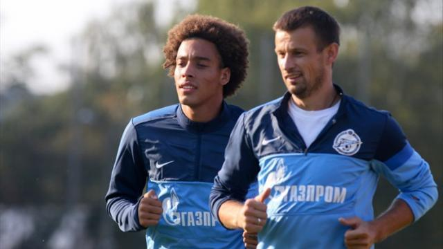 Witsel among key men missing for Zenit
