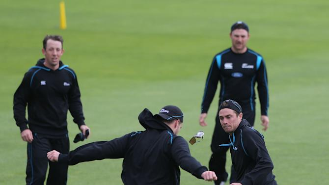 Cricket - ICC Champions Trophy - Group A - England v New Zealand - New Zealand Nets - SWALEC Stadium