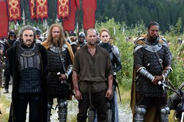 John Rhys Davies , Mike Dopud , Jason Statham , Leelee Sobieski and Brian J. White in Freestyle Releasing's In the Name of the King: A Dungeon Siege Tale
