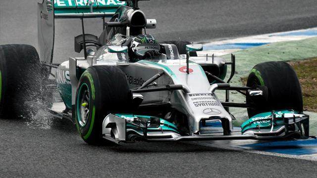 Formula 1 - Rosberg keeps Mercedes ahead