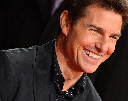 "Cruise arrives for world premiere of film ""Jack Reacher"" in Leicester Square in central London"