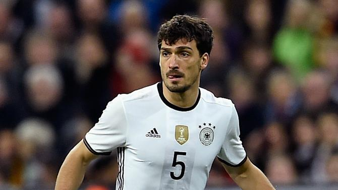 Hummels doubtful for Germany's Euro 2016 opener