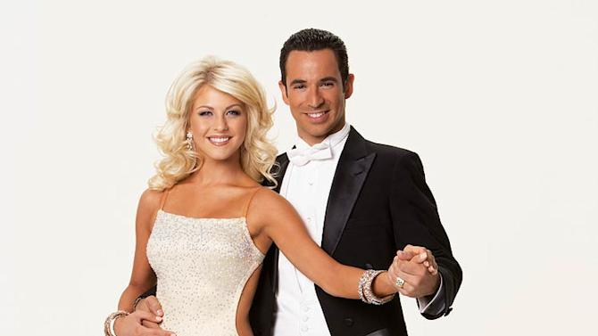 The two-time Indianapolis 500 Champion Helio Castroneves and his professional partner Julianne Hough were crowned champions on the 5 season of Dancing with the Stars.