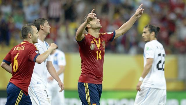 Confederations Cup - Del Bosque urges Spain to be more ruthless