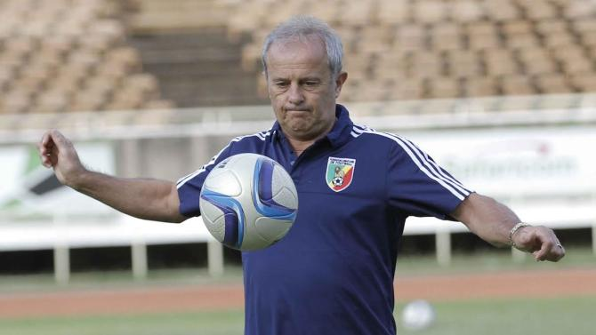 Congo coach hoping for a place at the 2018 World Cup