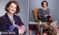 Julia Gillard Knits Kangaroo For Royal Baby