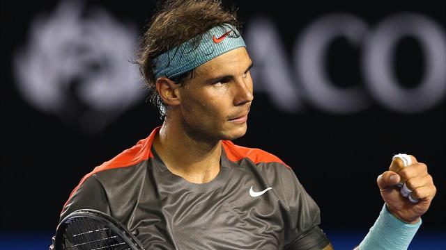 Australian Open - Nadal eases through to third round