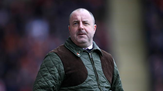 Barnsley manager Keith Hill was not a happy man after seeing his side lose at Blackburn
