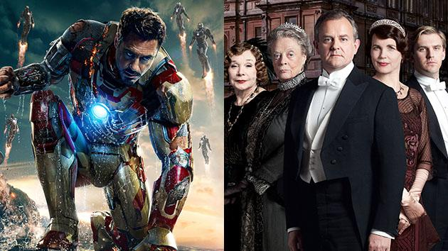 """Iron Man 3"" and ""Downton Abbey"""