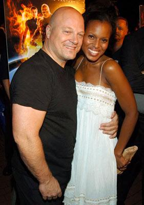 Premiere: Michael Chiklis and Kerry Washington at the New York premiere of 20th Century Fox's Fantastic Four - 7/6/2005