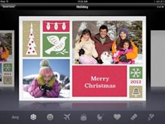 Holiday Cards app