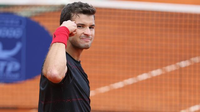 Tennis - Dimitrov wins ATP Bucharest without dropping a set