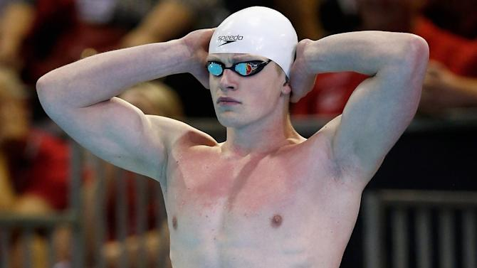 Swimming - Triple silver for Great Britain's swimmers in Doha