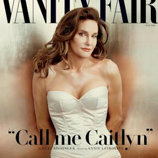 Caitlyn Jenner, formerly known as reality television star and former Olympic athlete Bruce Jenner, poses in an exclusive photograph made by Annie Leibovitz for Vanity Fair magazine