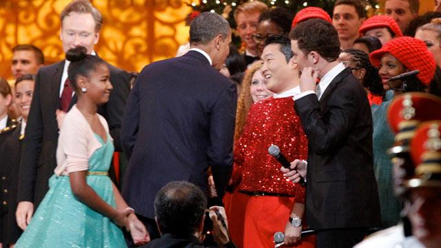 Obama Meets Psy Despite Controversy