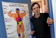 Swiss Laboratory for Doping Analysis' director Martial Saugy poses at the door of his office in 2009. Lance Armstrong's contentious 2001 Tour of Switzerland drug test was suspicious, but wasn't proof of EPO doping, even by today's stringent standards, Saugy, who oversaw the procedure, has told AFP