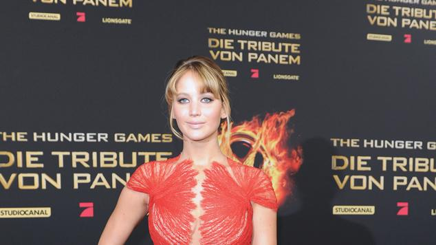 The Hunger Games Jennifer Lawrence Berlin Premiere