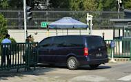 North Korean diplomats arrive for talks with their Japanese counterparts at the Japanese Embassy in Beijing on August 29. Japan and North Korea hope to soon hold talks which could cover Pyongyang's past abduction of Tokyo's citizens, a Japanese official said Friday after three days of preparatory discussions in Beijing
