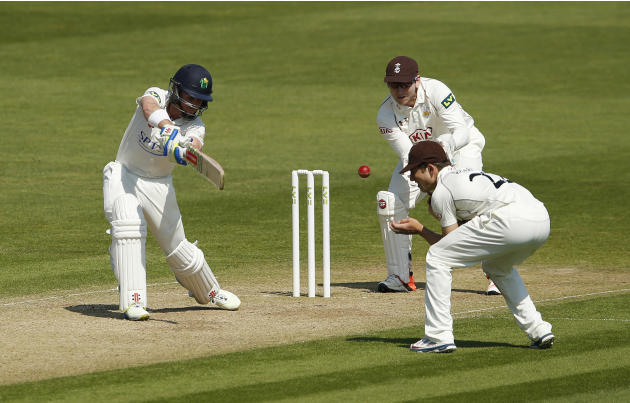 Cricket: Glamorgan's Mark Wallace in action