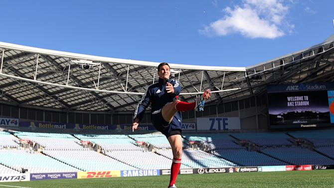 Rugby Union - 2013 British and Irish Lions Tour - British and Irish Lions Kicking Session - ANZ Stadium