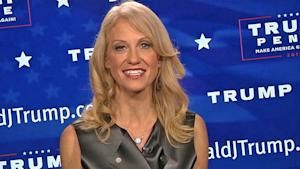 Kellyanne Conway Reacts to Donald Trump Win