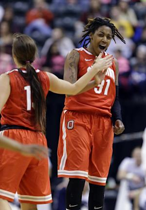 Ohio State women upset No. 11 Penn State 99-82
