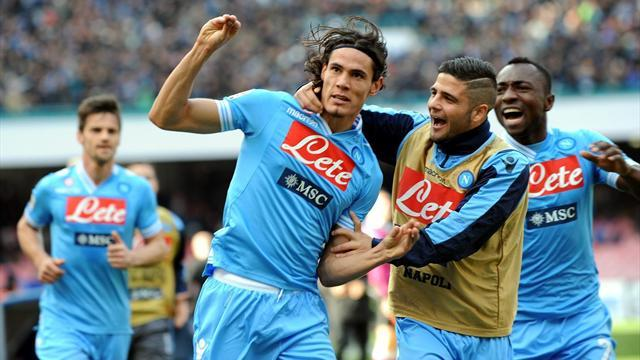 Serie A - Last-gasp Insigne gives Napoli win in thriller