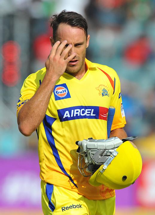 CLT20 2012 Match 3 - Chennai Super Kings v Sydney Sixers