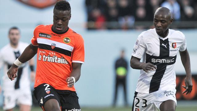 Ligue 1 - Rennes earn last-gasp draw at Lorient