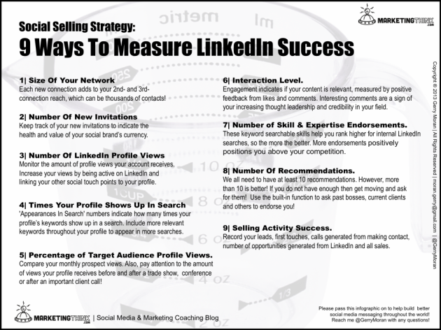 Size Matters. How To Measure Your LinkedIn Social Selling Success. image How To Measure LinkedIn Success1 1024x767