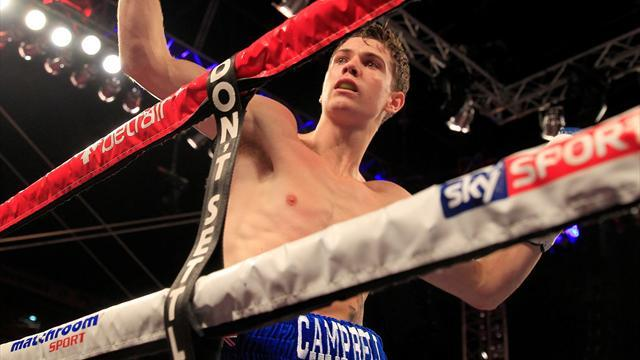 Boxing - Luke Campbell: Everyone would love to beat me