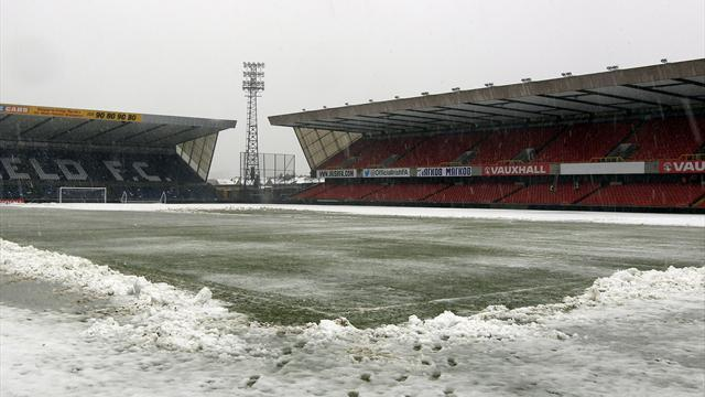 World Cup - Northern Ireland's clash with Russia postponed by snow