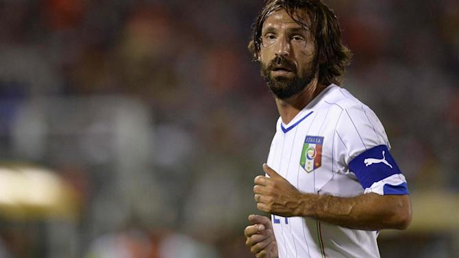 Liga - Pirlo: Italy can win in Brazil