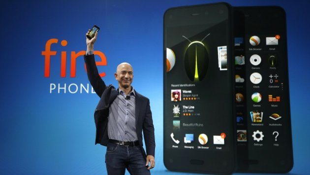 Amazon Fire Phone Gets New Update, Can Company Turn Things Around? image jeff bezos amazon fire phone ap5.jpg5
