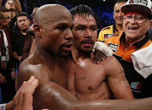 Floyd Mayweather and Manny Pacquiao could possibly compete in the 2016 Olympics.