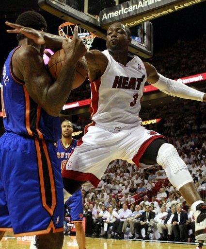 Dwyane Wade scored 19 points for the Miami Heat